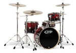 PDCB2014CB - PDP CONCEPT BIRCH - CHERRY TO BLACK FADE - CHROME HW 4 PCS