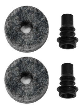 DWSM2229 - Barbed Cymbal Stem W/ Felt(2 Pcak) picture