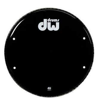 26 INCH GLOSS BLACK BASS DRUM HEAD picture
