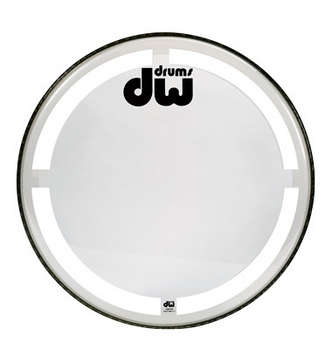 16 INCH COATED CLEAR  BASS DRUM HEAD picture