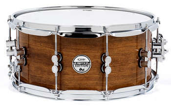 PDSX6514MBM - PDP Limited Bubinga/Maple/Bubinga Snare with Chrome Hardware picture