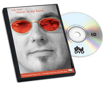 DVD, BILLY WARD, VOICES IN MY HEAD picture