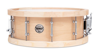 "PDP 5.5X14"" MAPLE S/D,TUBE LUG/ WOOD HOOP picture"