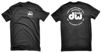 DW Black Heavy Cotton Short Sleeve Tee w/ corporate logo picture