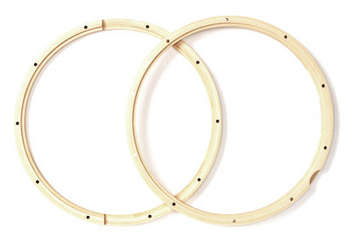PDAXWH1410P - PDP 14 inch 10 Lug Wood Hoops for Snare(pair) picture