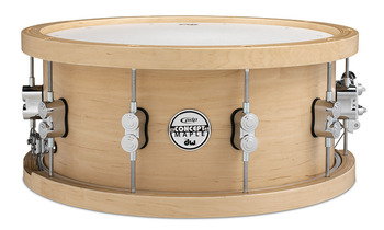 PDSN6514NAWH - PDP Concept Series Wood Hoop 20-ply Maple Snare - 6.5X14 picture
