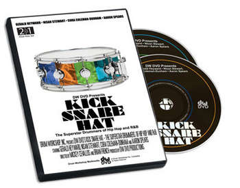 DVD KICK SNARE HAT-THE SUPERSTARS OF HIP HOP & R&B picture