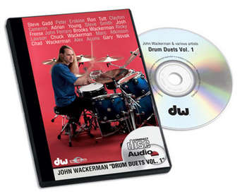 CD, JOHN WACKERMAN, DRUM DUETS VOL.1 picture