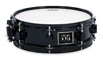 4x13 BLACK OUT SNARE (BLACK LACQUER, BLACK HW, MAPLE SHELL) picture