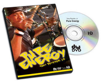 DVD, TONY ROYSTER JR. PURE ENERGY picture