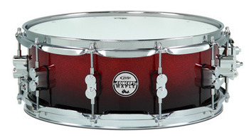 PDCM5514SSRB - PDP CONCEPT MAPLE - RED TO BLACK SPARKLE FADE - CHROME HW 5.5x14 picture