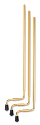 TOM LEGS, 21, ALUMINUM, GOLD (3 PK)