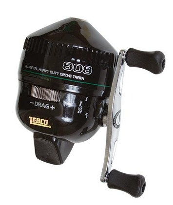 Zebco 808 Bowfisher Reel picture