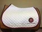 Arc de Triomphe Embroidered Saddle Pad