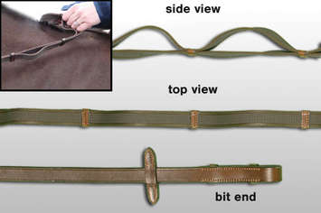 Arc De Triomphe Double Layered Ultra Grip Reins picture