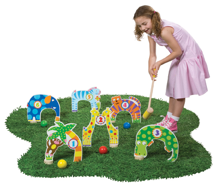 Alex Toys Jungle Croquet Game