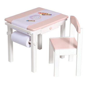 Art Table & Chair Set - Pink picture