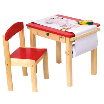 Art Table & Chair Set - Red picture