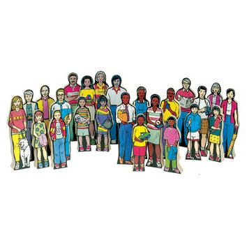 Multi-Cultural Family Kit (Set of 24) picture