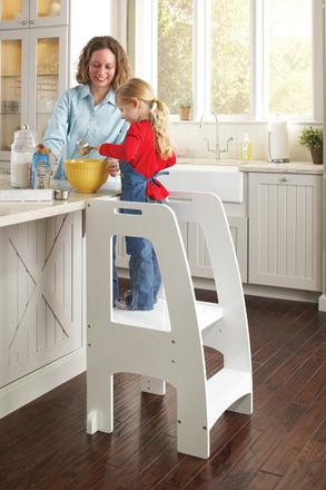Step-Up Kitchen Helper: White picture