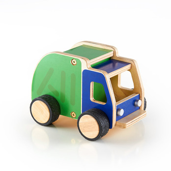 Plywood Garbage Truck picture