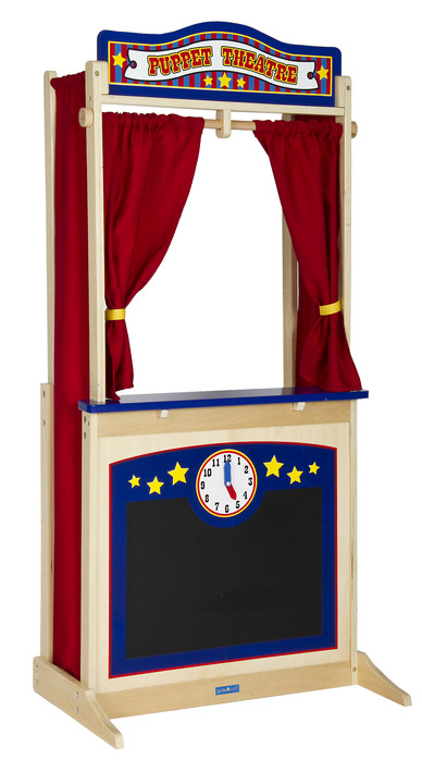 Gc G51072 Guidecraft Wooden Floor Puppet Theater
