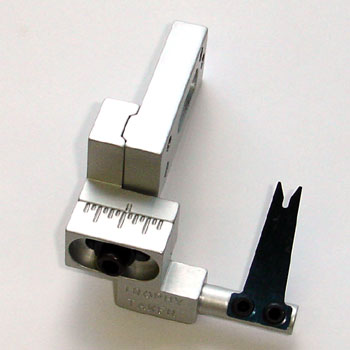 Left Hand Silver Slide-Adjust Spring Steel 2 with Short Mounting Bar picture