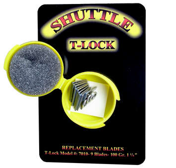 100 gr Shuttle T-Lock ~BLACK OPS~ Replacement Blades picture