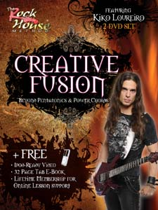 the rock house blog guitar frenzy friday kiko loureiro 39 s guitar lesson on the lydian mode w tab. Black Bedroom Furniture Sets. Home Design Ideas