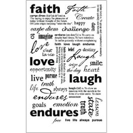 RUB-ROY551 - FAITH SENTIMENTS RUB ON picture