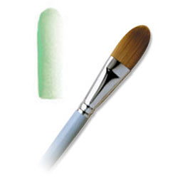 L2080-1/2 INCH  - SUNBURST OVAL WASH BRUSH picture