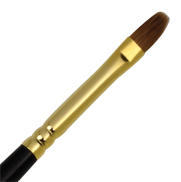 L533T-4 - RED SABLE OIL FILBERT BRUSH picture