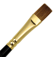 L518B-14 - RED SABLE OIL BRIGHT BRUSH picture