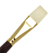 L1AF-12 - SUPREME BRISTLE OIL FLAT BRUSH picture