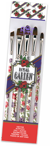 RRG 8303 - ROYAL GARDEN FIL/ANG BRUSH SET picture