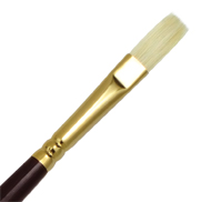L1AF-3 - SUPREME BRISTLE OIL FLAT BRUSH picture