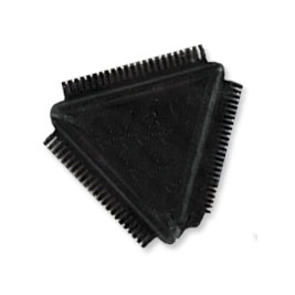 LW115 - RUBBER TRIANGULAR COMB picture