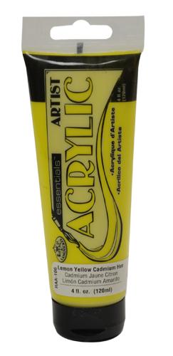 RAA-106 - 4oz Acrylic-Lemon Yellow Cadmi picture