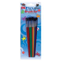 BK114 - BIG KIDS CHOICE 8 PC BRUSH SET picture