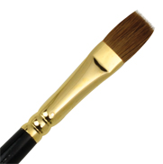 L518B-12 - RED SABLE OIL BRIGHT BRUSH picture