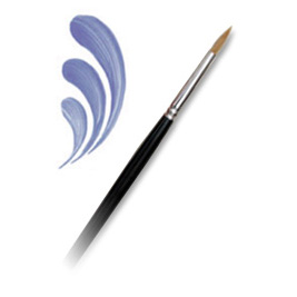 L3000-3/0 - COMBO ROUND BRUSH picture