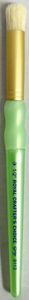 R9113-1/2 INCH  - CC WHITE BRISTLE DOME STENCIL picture