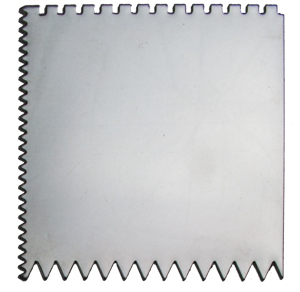 PS06 - 3 SIDED STAINLESS STEEL SCRAPER picture