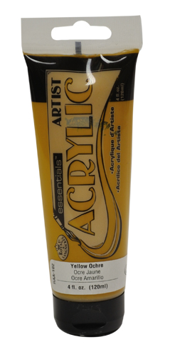 RAA-102 - 4oz Acrylic-Yellow Ochre picture