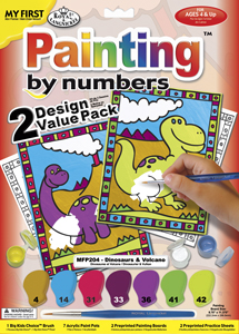 MFP204 - PBN MY FIRST 2 PK DINOSAURS & picture