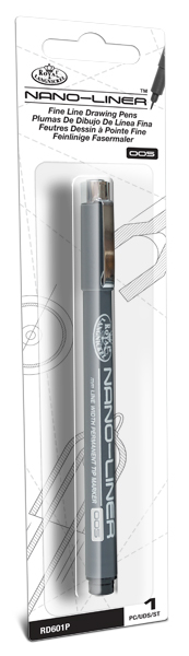 RD601P - NANO LINER 005 PACKAGED BLACK picture