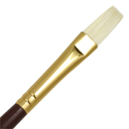 L1AF-6 - SUPREME BRISTLE OIL FLAT BRUSH picture