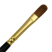 L533T-8 - RED SABLE OIL FILBERT BRUSH picture