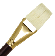 L1AF-18 - SUPREME BRISTLE OIL FLAT BRUSH picture