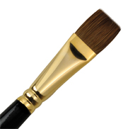 L518B-20 - RED SABLE OIL BRIGHT BRUSH picture